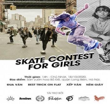 Skate Contest For Girls