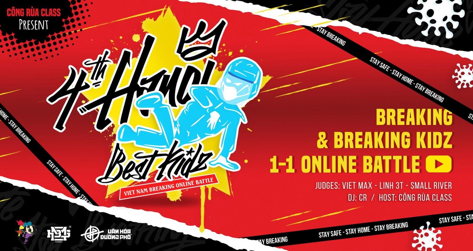 """Giải đấu hấp dẫn """"Hanoi Best Kidz Vol 4"""" sẽ ngưng nhận Video vòng loại từ ngày mai 19/9"""