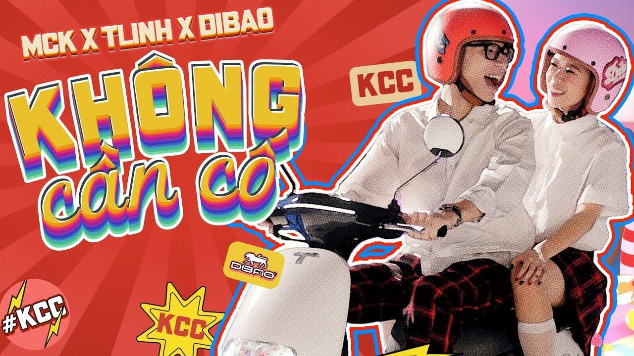 """Rapper Tlinh và MCK tung MV """"Không Cần Cố"""" quảng cáo cho Dibao và MCK có chia sẻ gì về sản phẩm lần này"""