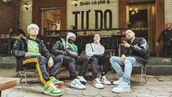 """4 đôi Nike AF1 """"độ"""" của nhóm Rap Da Lab được hoàn thiện tỉ mỉ như thế nào, hãy cùng xem một số hình ảnh cận cảnh"""