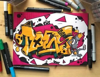 5 chiếc bút mà dân vẽ Graffiti nên có