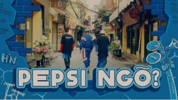 Ẩm thực đường phố lên ngôi, Pepsi Ngõ không để uống mà để sưu tầm