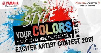 Bắt đầu từ hôm nay các nghệ sĩ Graffiti & Street Art đã có thể nộp bài cuộc thi Exciter Master Art of Street do Yamaha Motor Việt Nam tổ chức