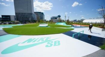 Cùng tham khảo hoạt động trượt ván tại khu liên hợp thể thao miễn phí của Nike Nhật Bản tại Toyosu Park - Tokyo, các buổi tối chỉ giành cho nữ Skater