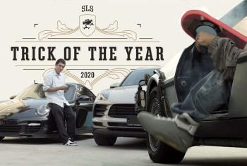 Giải thưởng SLS Trick Of The Year 2020 danh giá trong làng Trượt ván đã có chủ nhân