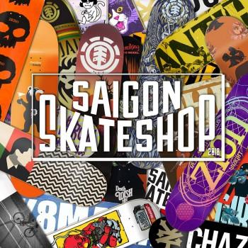 Giới thiệu cửa hàng Ván trượt và Thời trang Trượt ván Saigon Skateshop