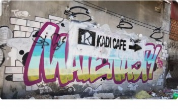 Kadi Cà Phê bị chỉ trích vì xóa 2 bức Graffiti một cách nham nhở để viết quảng cáo cho quán mình