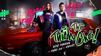 """MV """"Thích Thì Chơi"""" của Rapper Phúc Du x Bích Phương xuất hiện một hạt sạn nhỏ khiến cộng đồng Graffiti """"buồn chán"""""""