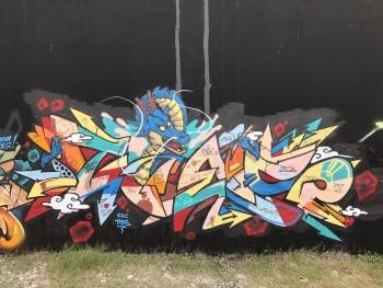 Nghệ sỹ Nguyễn Hoàng Hiệp, với mong muốn ứng dụng nhiều hơn Graffiti vào quảng cáo tại Việt Nam