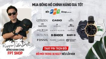 Rapper Mr D  - Đinh Tiến Đạt quay trở lại sau thời gian dài vắng bóng với một bản Rap quảng cáo đồng hồ FPT