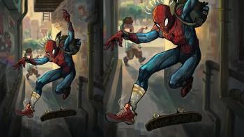 Spider-Man Trượt ván ngoài đời thật là ai?