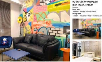 Tạo điểm nhấn bằng Graffiti trong không gian nội thất gia đình, nghệ sỹ Nguyễn Hoàng Hiệp nói về Graffiti ứng dụng