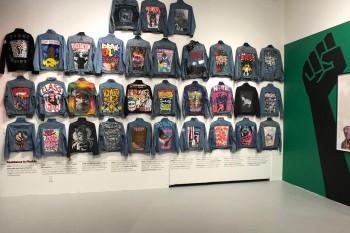 """Triển lãm Graffiti trên đồ Jeans nói lên sự thật """"Sự im lặng khi nhìn thấy bạo lực chính là bạo lực"""""""